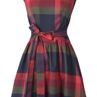 Cupshe Zing All Day Plaid Dress
