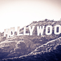 Hollywood Sign 5x7 Fine Art Photography Print