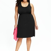 Old Navy Womens Plus Jersey Tank Dresses