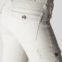 HAND PICKED SKINNY CARGO PANT