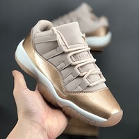 "Air Jordan 11 Low ""Rose Gold"" Sneaker - Best Deal Online"