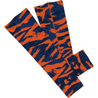 Digital ripped blue and orange camo arm sleeve  (No Refunds - No Exchanges)