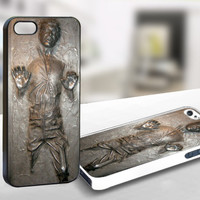 For Iphone 5 - Han Solo Carbonite - Case Print On Hard Cover