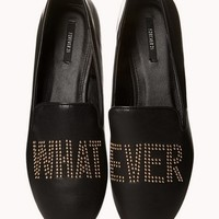 Whatever Stud Loafers