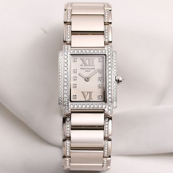 Patek Philippe Twenty-4 4908 18K White Gold