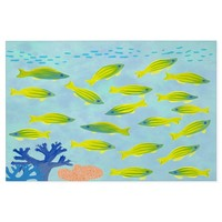 Lime green fish