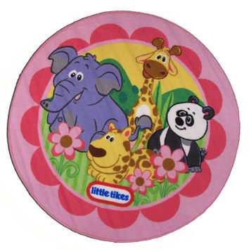 Fun Rugs Little Tikes Collection Animal Kingdom Area Rug