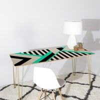 Elisabeth Fredriksson Turquoise Stripe Combination Desk