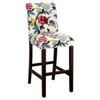 "Avington Print 30"" Barstool Wood - Threshold™ : Target"