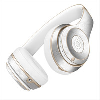 White Marble Scaled With Gray Skin for the Beats By Dre Headphones