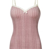 Slimming Built in Bra Ribbed Knit Sleeveless Shapewear Cami Tank Top (CLEARANCE)