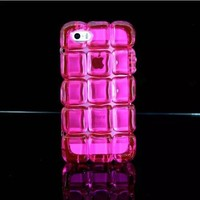 Amazon.com: Fashion Rose Square Ice Block TPU Hybrid Case Hot High Impact Bow Cover for Appl...
