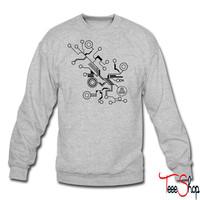 Circuit HD VECTOR crewneck sweatshirt