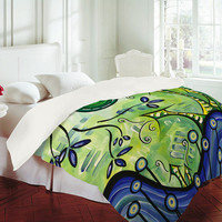 DENY Designs Home Accessories | Madart Inc. Happy At Home Duvet Cover Sale Item