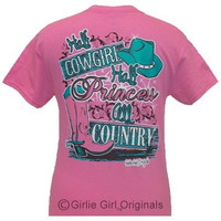 Girlie Girl Originals Funny All Country Pink Bright T Shirt