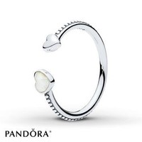 PANDORA Ring Hearts of Love Sterling Silver