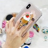 Personalized Ice cream PopSockets PopGrip (POP304)