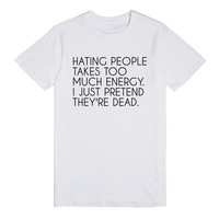 hating people