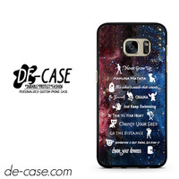 Disney 11 Best Lesson Quotes Galaxy DEAL-3281 Samsung Phonecase Cover For Samsung Galaxy S7 / S7 Edge