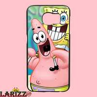 "Patrick and Spongebob for iphone 4/4s/5/5s/5c/6/6+, Samsung S3/S4/S5/S6, iPad 2/3/4/Air/Mini, iPod 4/5, Samsung Note 3/4 Case ""002"""