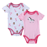 2015 Hot Sale 0M-12M Baby Girl BodySuit Cute Animal Designer Roupas Bebes Suit Baby Sleepsuit Jumpsuit Next Newborn Baby Clothes