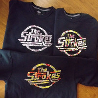 The Strokes Crewneck Sweatshirt -Chose your fabric-