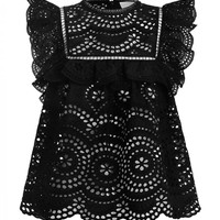Meridian Embroidered Top