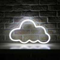 Cloud LED Neon Large Sign