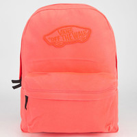 Vans Realm Backpack Coral One Size For Women 23750631301