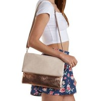 Layered Clutch & Cross-Body Convertible Bag