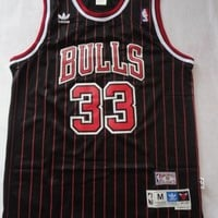 Scottie Pippen Chicago Bulls 33 NBA Jersey Basketball Jersey Scottie Pippen Bulls Jersey