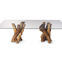 Old Vine Grapevine Coffee Table - overstock from Napa Style catalog - beautiful natural vines from Historic Napa Valley