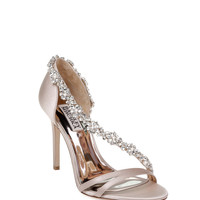 VOLETTA STRAPPY EMBELLISHED EVENING SHOE