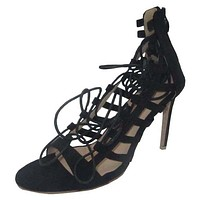 size 35-43 new women's fashion lace up high heels open toe sexy women sandals spring summer shoes woman high-heel #Y0596823L