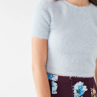 Finders Keepers Wildfire Fuzzy Top | Urban Outfitters