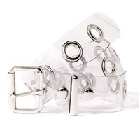 Clear Jumbo Grommet Belt