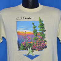 80s Colorado Sunset t-shirt Medium