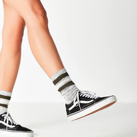 Marled Striped Crew Sock | Urban Outfitters
