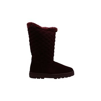 Style and Co Nickyy Cold-Weather Boots, Womens Shoes, Size 7M/Wine