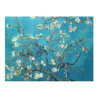 Branches With Almond Blossom Canvas Wall Art Oil Painting