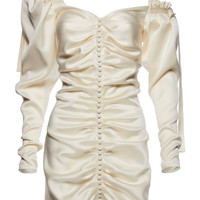 Tefe Ruched Dress | Moda Operandi