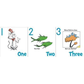 Dr Seuss Numbers 1 20 Bb Set