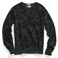 Classic Pocket Sweatshirt in Black Camo