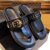 VERSACE Rivet slippers