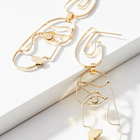 Profile Drop Earrings