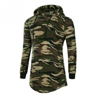 2017 New Mens Autumn Camouflage Hoodies Fashion leisure pullover fitness Bodybuilding jacket Sweatshirts sportswear clothing