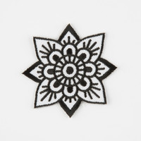 THESE ARE THINGS Mandala Flower Patch | Patches & Pins