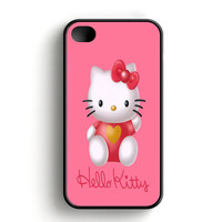 Hello Kity Love Suit iPhone 4|4S Case