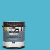 BEHR Premium Plus Ultra, 1-gal. #520B-5 Liquid Blue Eggshell Enamel Interior Paint, 275401 at The Home Depot - Mobile