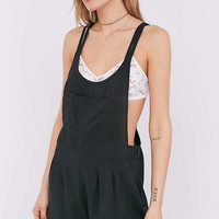 Ecote Mia Strappy Racerback Shortall Overall | Urban Outfitters